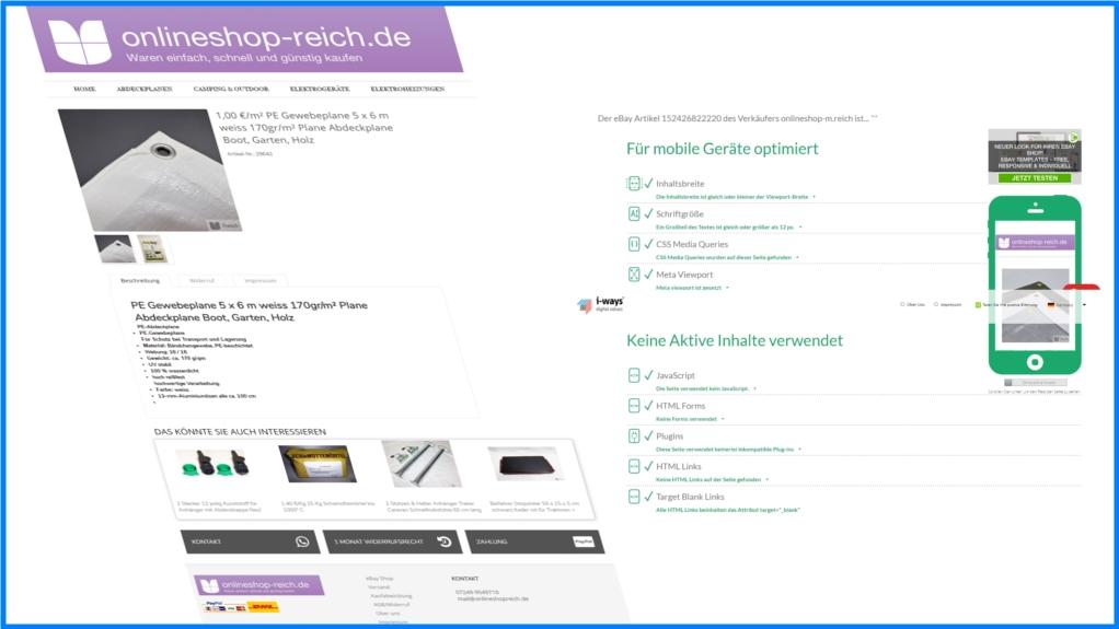 Onlineshop-Reich